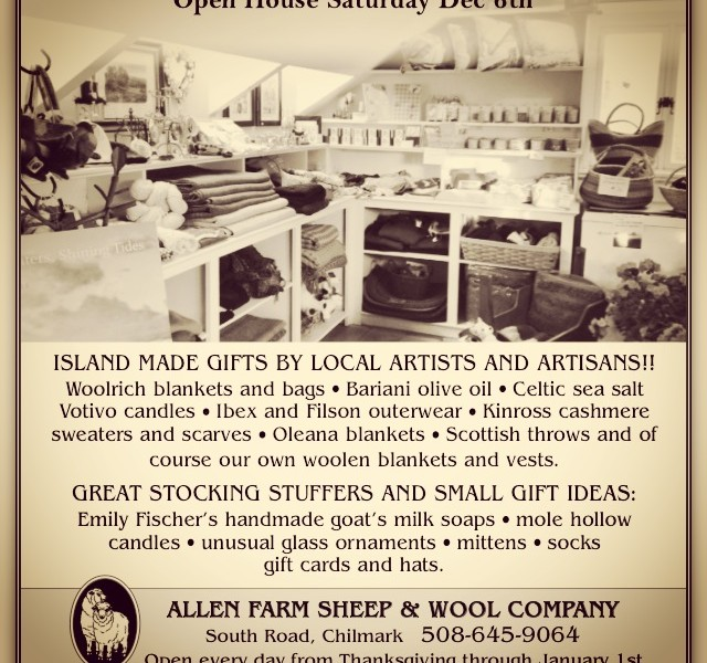 Our Open House is back! | The Allen Farm Sheep and Wool Company