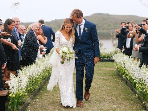 Vogue A Casually Elegant Wedding On Martha S Vineyard